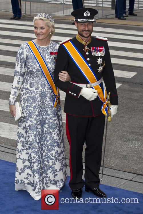 Crown Princess Mette-marit and Crown Prince Haakon Of Norway 2
