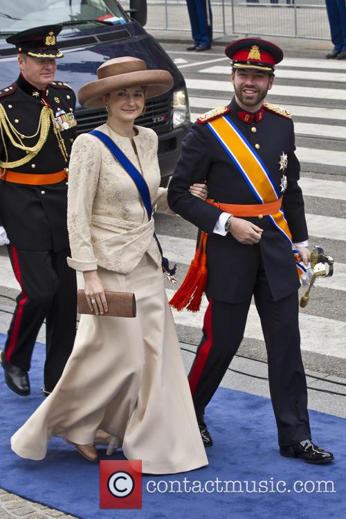 Princess Stephanie and Crown Prince Guillaume Of Luxembourg 10