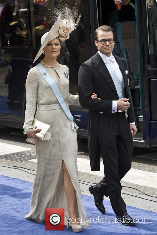 Crown Princess Victoria and Crown Prince Daniel Of Sweden 1