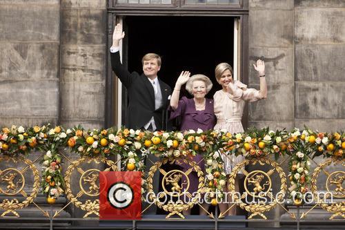 King Willem Alexander, Queen Beatrix, Queen Maxima, Amsterdam