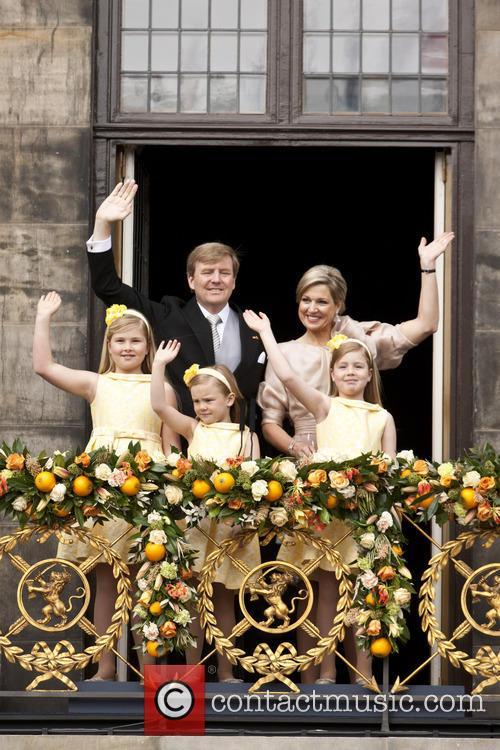 King Willem Alexander, Queen Beatrix and Queen Maxima 6