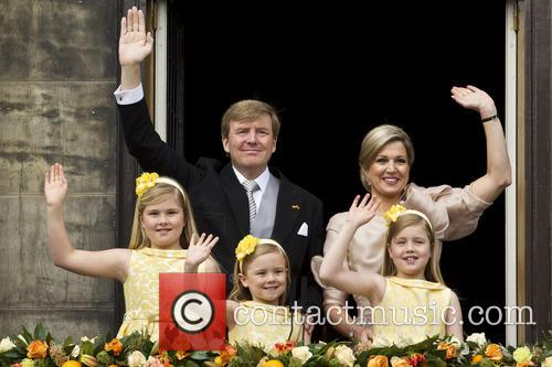 king willem alexander queen maxima inauguration of king 3637252