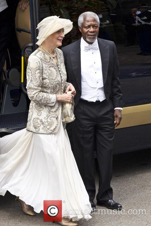 Kofi Annan and Nane Annan 1