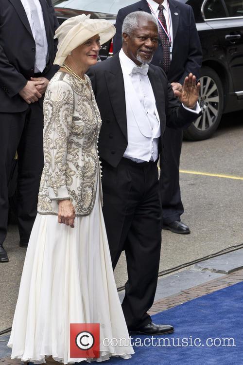 Kofi Annan and Nane Annan 2