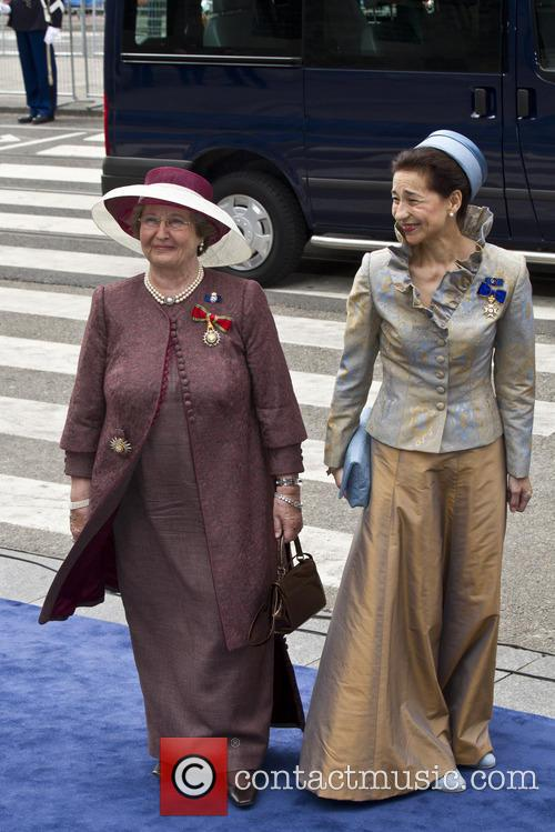 Lady in Court of Princess Beatrix and Miente Boellaard 1