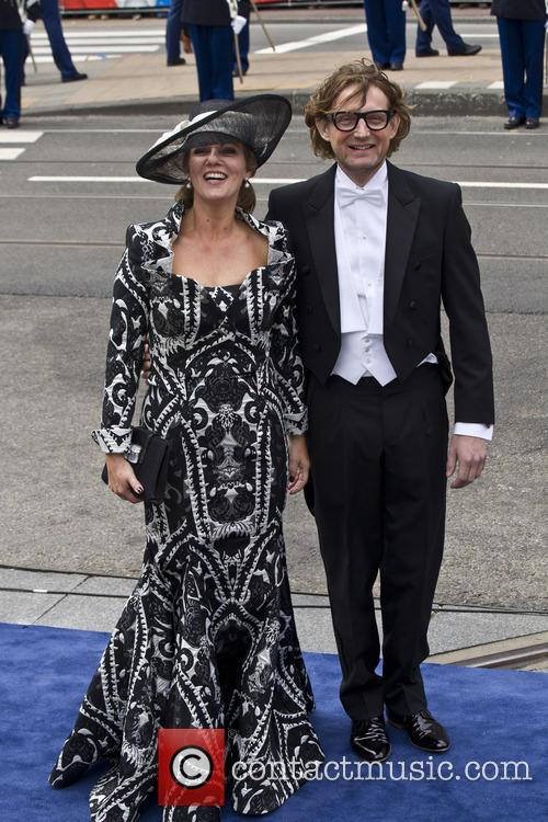 Prince Bernhard of Orange-Nassau, van Vollenhoven, Princess Annette of Orange-Nassau, Amsterdam