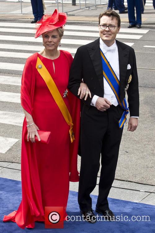 Prince Constantijn and Princess Laurentian Of The Netherlands 11
