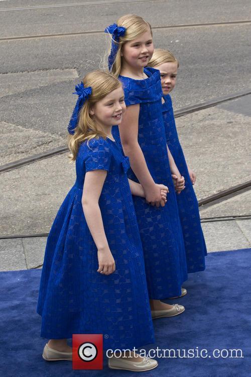 Ariane, Princess Alexia and Princess Catharina Amalia 3