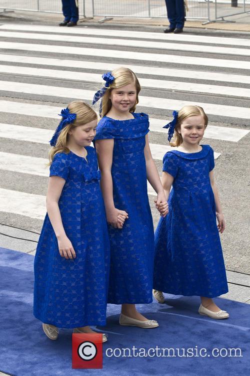 Ariane, Princess Alexia and Princess Catharina Amalia 4