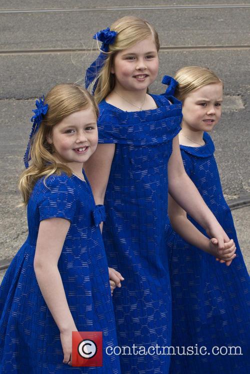 Ariane, Princess Alexia and Princess Catharina Amalia 1