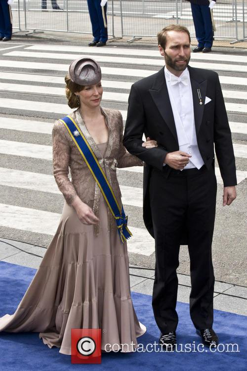 Princess Margarita Of Bourbon-parma and Tjalling Siebe Ten Cate 1