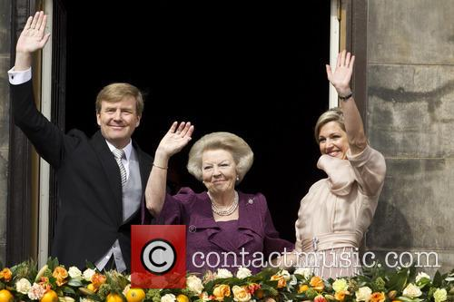 Queen Beatrix, King Willem Alexander and Queen Maxima 3