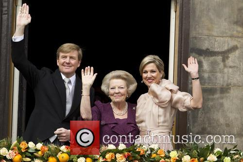 Queen Beatrix, King Willem Alexander and Queen Maxima 5