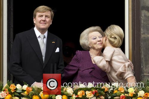 Queen Beatrix, King Willem Alexander, Queen Maxima, Amsterdam