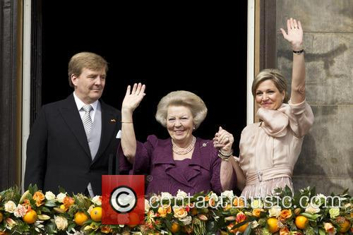 Queen Beatrix, King Willem Alexander and Queen Maxima 1
