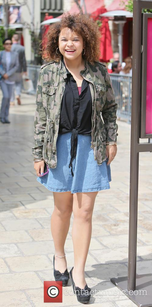 Rachel Crow at The Grove in West Hollywood