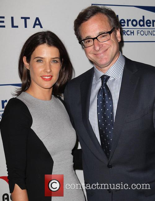 Cobie Smulders and Bob Saget 6