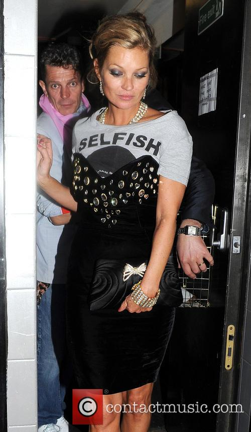 kate moss celebrities at the box nightclub 3637740