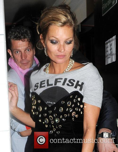kate moss celebrities at the box nightclub 3637741