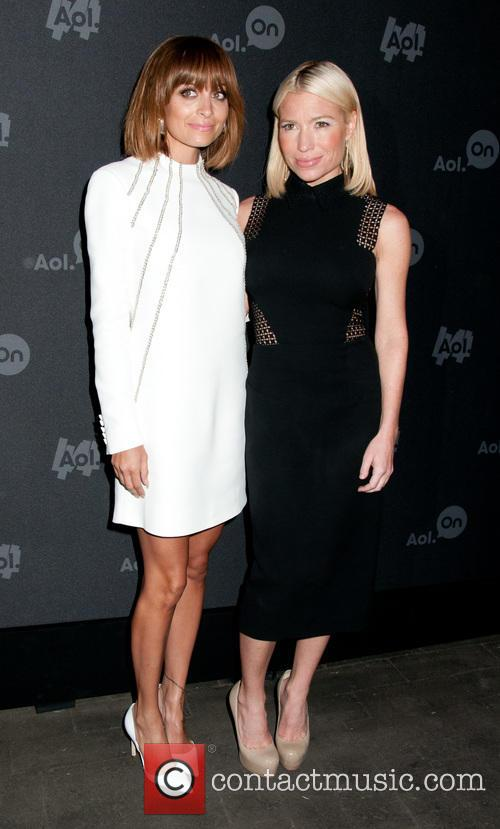 Nicole Richie and Tracy Anderson 5