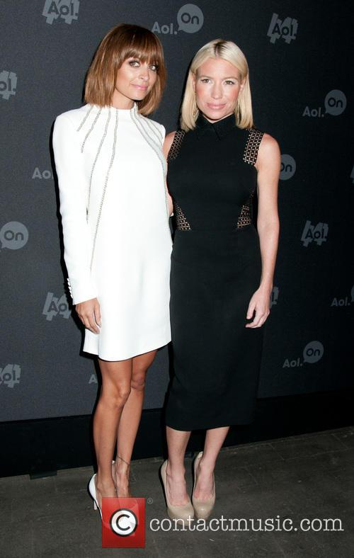Nicole Richie and Tracy Anderson 8
