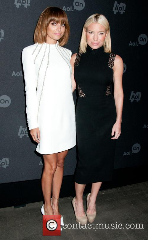 Nicole Richie and Tracy Anderson 9