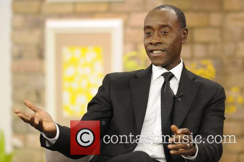 Don Cheadle appears on CTV's The Marilyn Denis Show promoting 'Iron Man 3'