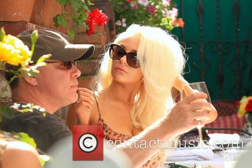 Doug Hutchison and Courtney Stodden 2