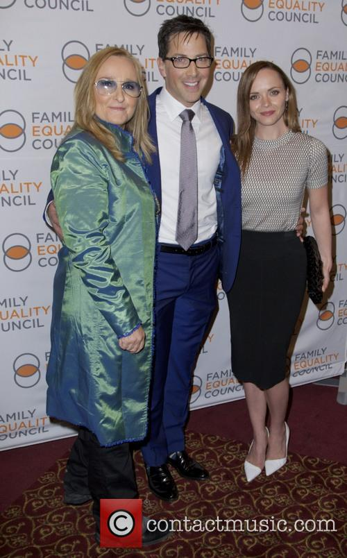 Melissa Etheridge, Dan Bucatinsky and Christina Ricci 4