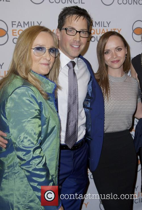 Melissa Etheridge, Dan Bucatinsky and Christina Ricci 7
