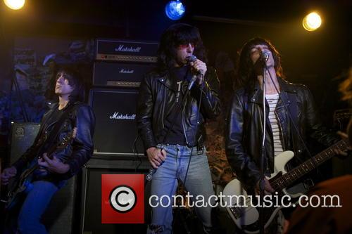 Joel David Moore, Julian Acosta, Steven Schub and Ramones