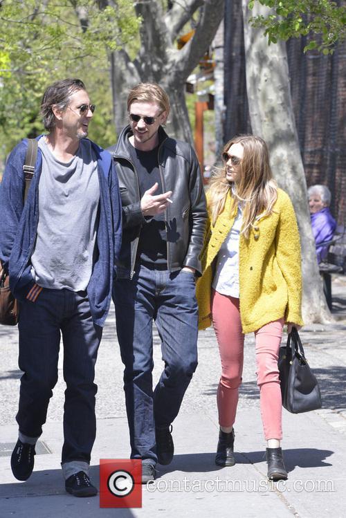 Elizabeth Olsen and Boyd Holbrook out in Soho...