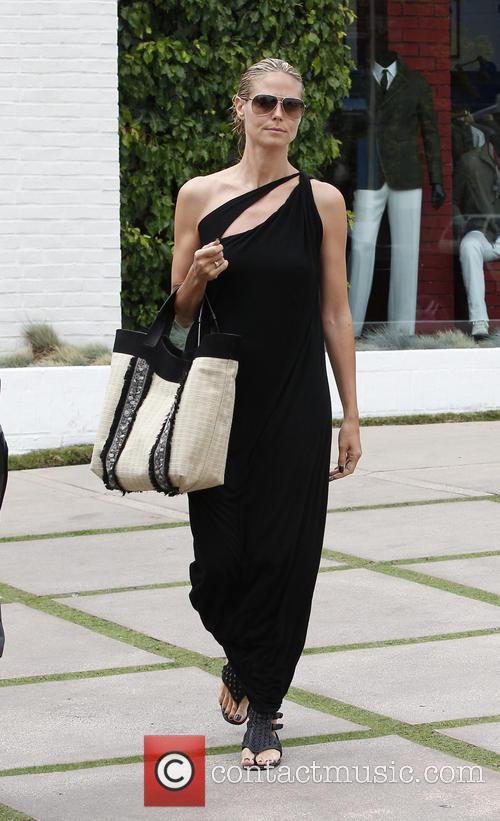 Heidi Klum and Martin Kristen shopping