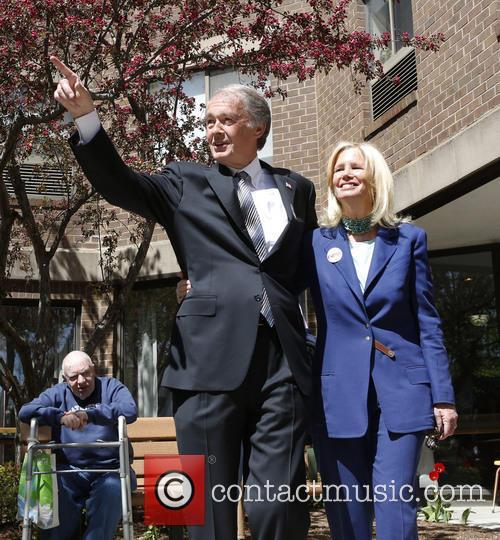 Massachusetts Rep. Edward Markey and Susan Blumenthal 3