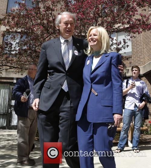 Massachusetts Rep. Edward Markey and Susan Blumenthal 5
