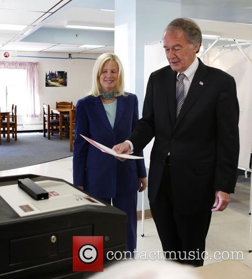 Massachusetts Rep. Edward Markey and Susan Blumenthal 6