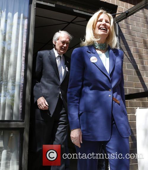 Massachusetts Rep. Edward Markey and Susan Blumenthal 1