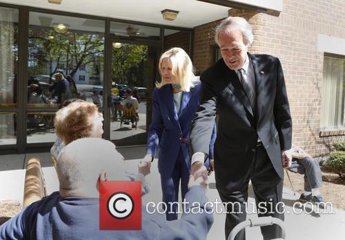 Massachusetts Rep. Edward Markey and Susan Blumenthal 8
