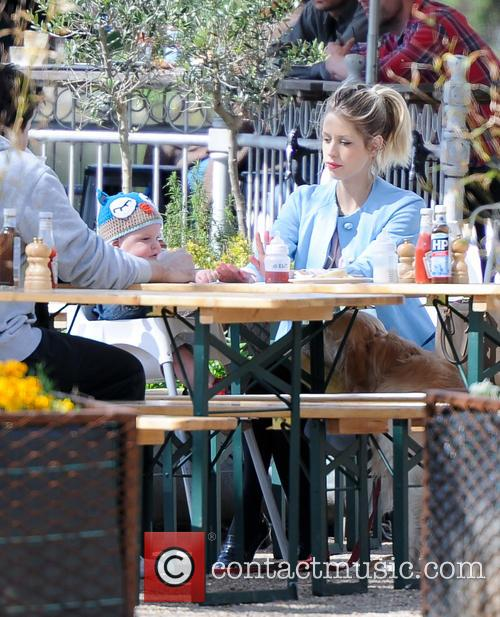 Peaches Geldof seen out and about