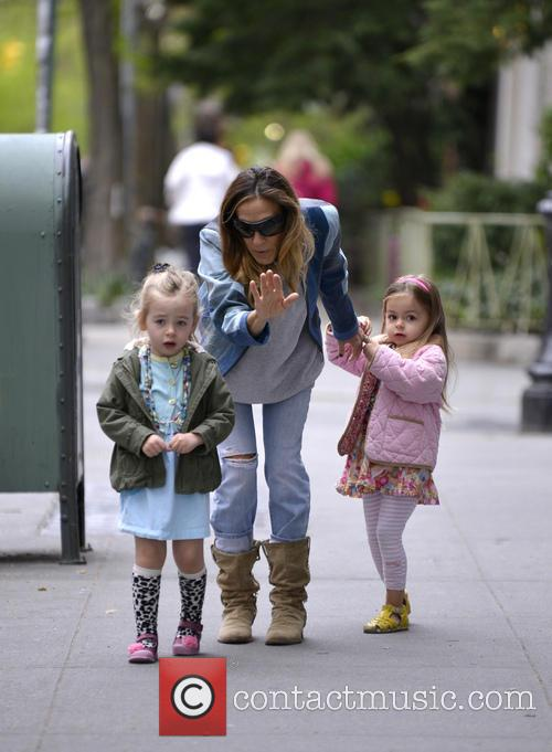 Sarah Jessica Parker, Marion Broderick and Tabitha Broderick 1