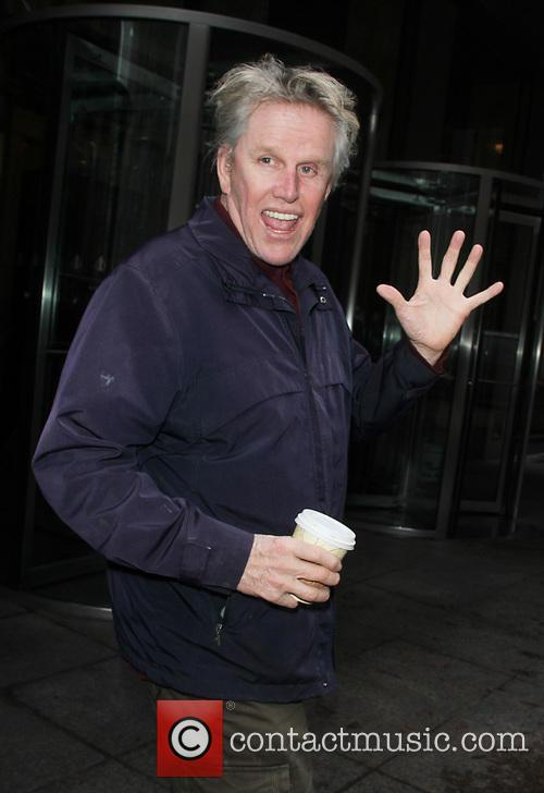 gary busey celebrities outside sirius xm studios 3636888