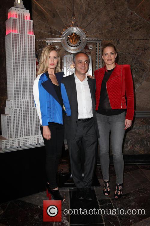 Katharina Harf, Michele Scannavini and Georgia May Jagger 7