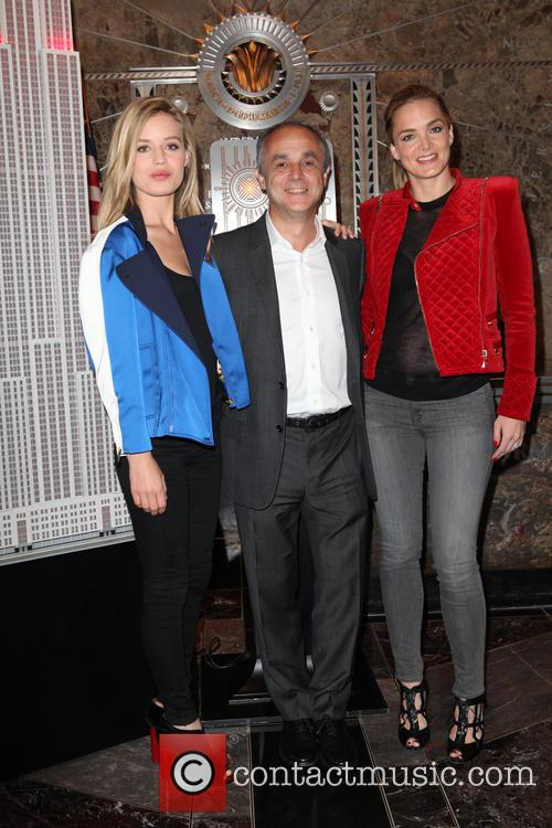 Katharina Harf, Michele Scannavini and Georgia May Jagger 9