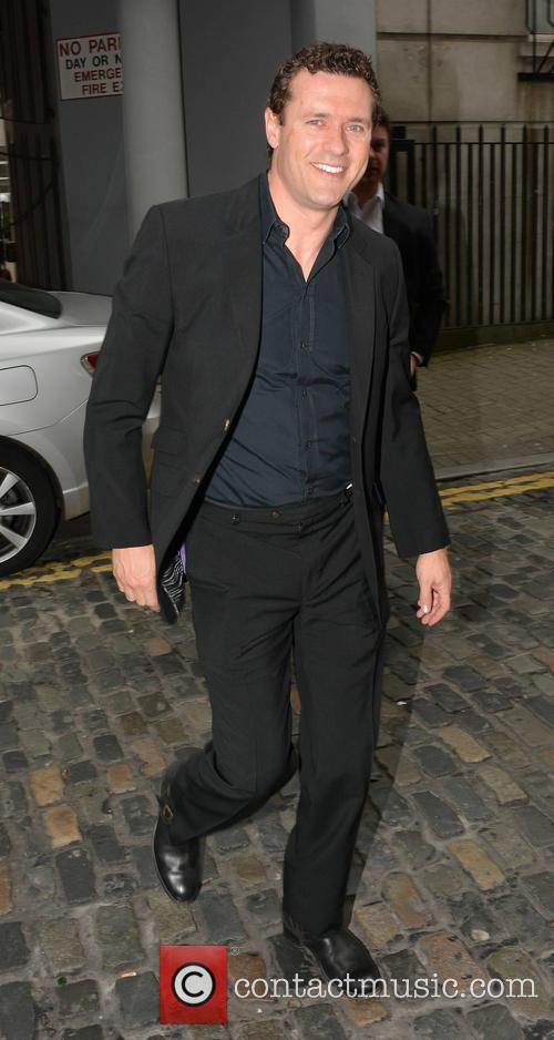 Jason O'Mara arrives at Today FM studios