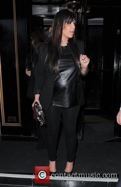 Kim Kardashian seen leaving her hotel