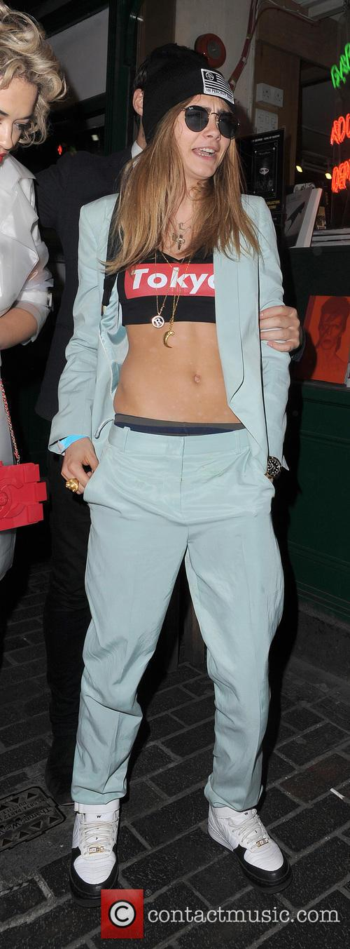 cara delevingne celebrities leaving the box club 3638249