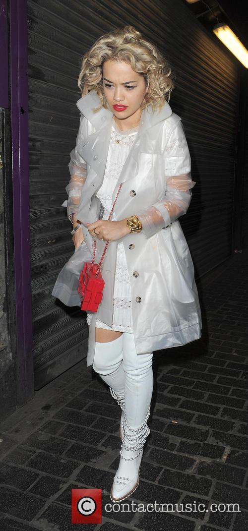rita ora celebrities leaving the box club 3638270