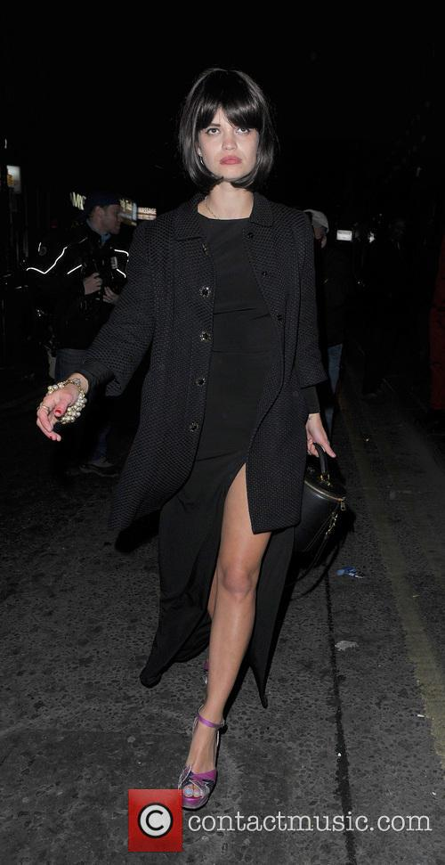 pixie geldof celebrities leaving the box club 3638364