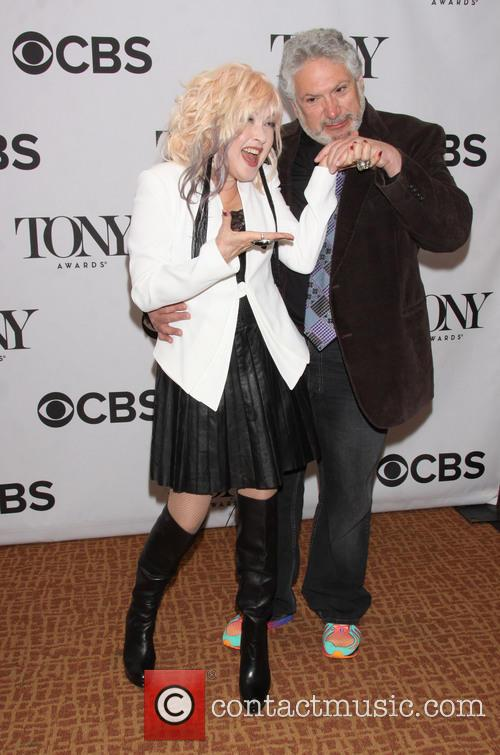 Cyndi Lauper and Harvey Fierstein 3