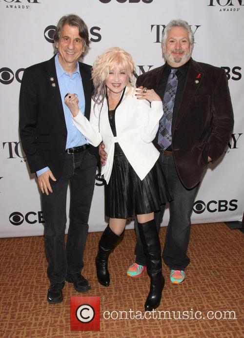 David Rockwell, Cyndi Lauper and Harvey Fierstein 1